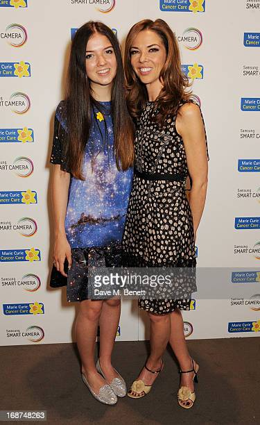 Savannah Murphy and Heather Kerzner attend the launch of Samsung's NX Smart Camera at a charity auction with David Bailey in aid of Marie Curie...