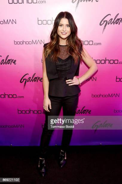 Savannah Outen at the boohoocom LA Popup Store Launch Party with Galore Magazine on November 1 2017 in Los Angeles California