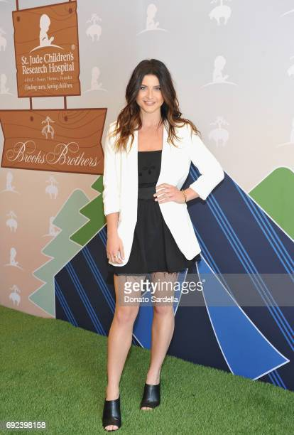 Savannah Outen at the Brooks Brothers Beverly Hills summer camp party benefitting St Jude Children's Research Hospital at Brooks Brothers Rodeo on...