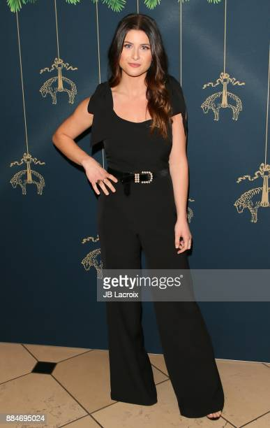 Savannah Outen attends the Brooks Brothers holiday celebration with St Jude Children's Research Hospital at Brooks Brothers Rodeo on December 2 2017...