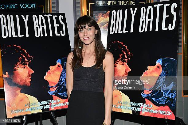 Savannah Welch attends the BILLY BATES LA Premiere Directed By Jennifer DeLia Starring James Wirt And Savannah Welchl Produced By Julie Pacino at Los...