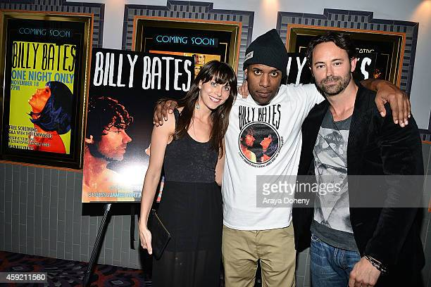 Savannah Welch DJ Whoo Kid and James Wirt attend the BILLY BATES LA Premiere Directed By Jennifer DeLia Starring James Wirt And Savannah Welchl...