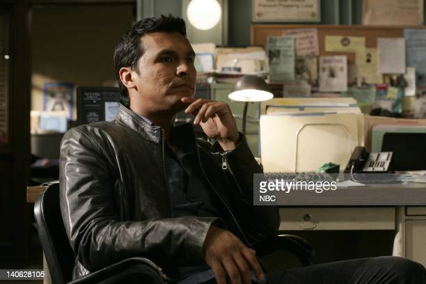 """Savant"""" Episode 904 -- Pictured: Adam Beach as Detective Chester Lake -- Photo by: Will Hart/NBC/NBCU Photo Bank"""