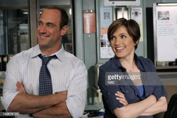 UNIT Savant Episode 904 Pictured Christopher Meloni as Detective Elliot Stabler Mariska Hargitay as Detective Olivia Benson Photo by Will...