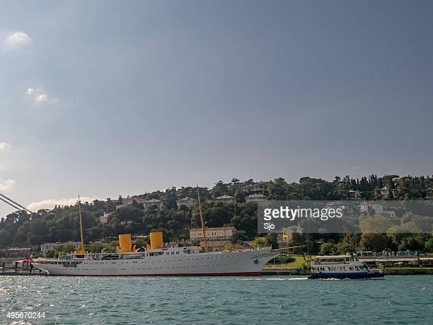 MV Savarona presidential yacht of the Republic of Turkey