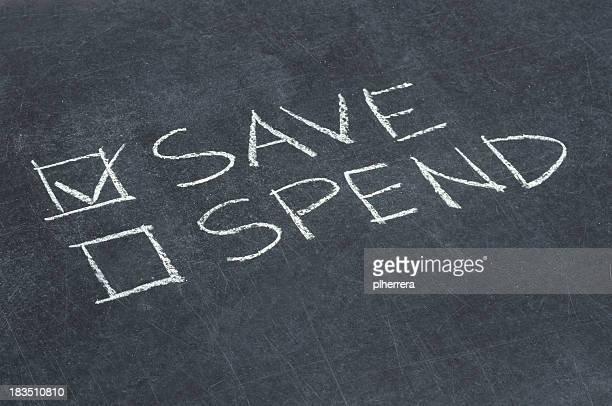 Save or Spend Checkbox