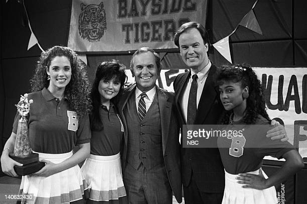 BELL Save That Tiger Episode 16 Air Date Pictured Elizabeth Berkley as Jessie Spano Tiffani Thiessen as Kelly Kapowski Ronnie Schell as Elliot...