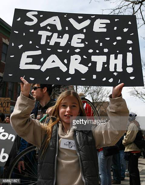 save the earth protest - climate change stock pictures, royalty-free photos & images