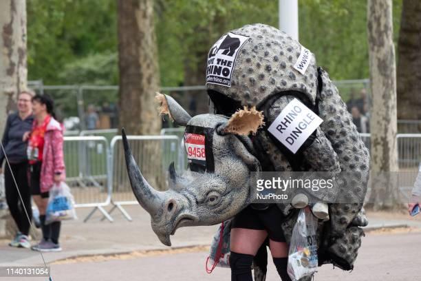 Save The Rhino finishes the 2019 Virgin Money London Marathon 28 April