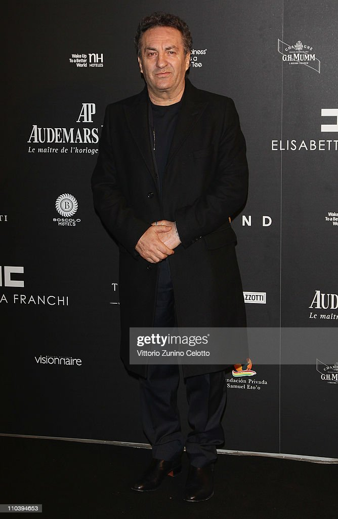 Saverio Moschillo attends the 'Fundaction Privada Samuel Eto'o' Charity Event Red Carpet on March 17, 2011 in Milan, Italy.