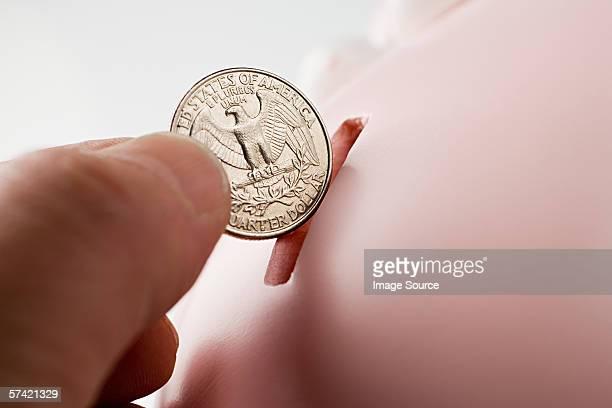 Saving a quarter
