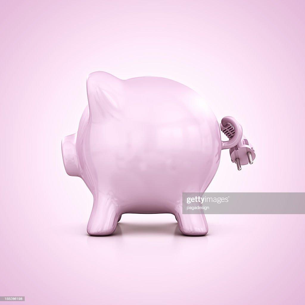 Energie sparen : Stock-Foto