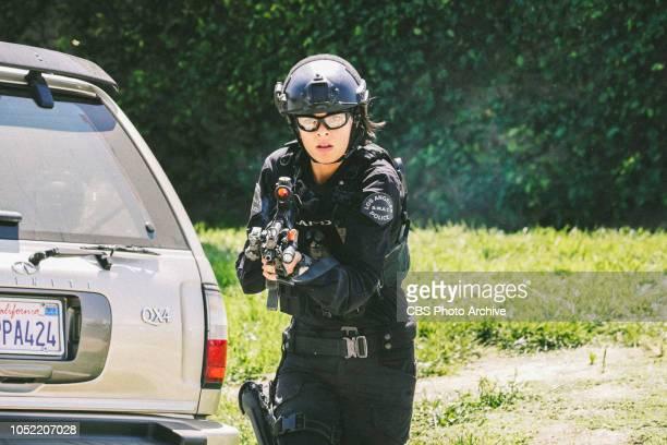 'Saving Face Hondo suspects ulterior motive when the estranged US Marshal husband of his romantic interest Deputy District Attorney Nia Wells...