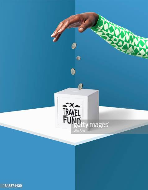 saving for travel - human limb stock pictures, royalty-free photos & images