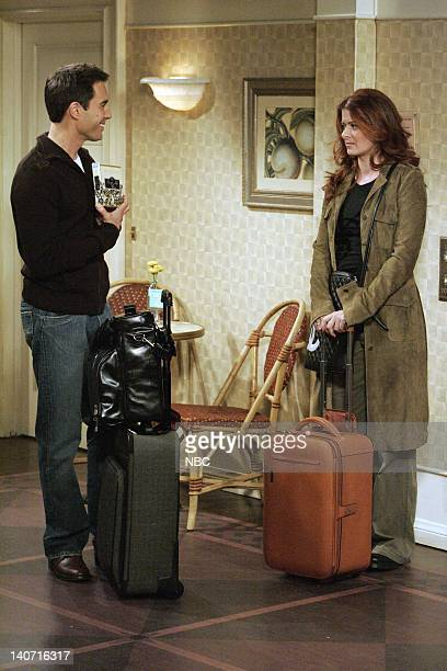 WILL GRACE Saving Grace Again Pt 1 Episode 8 Pictured Eric McCormack as Will Truman Debra Messing as Grace Adler Photo by Chris Haston/NBCU Photo Bank