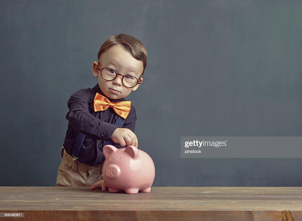 Ahorro dinero : Foto de stock