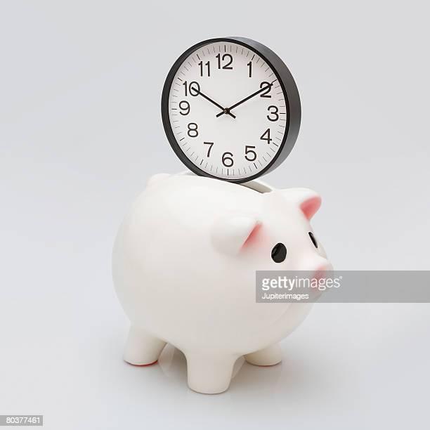 Saving time concept