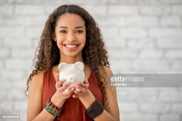saving up money - savings stock pictures, royalty-free photos & images
