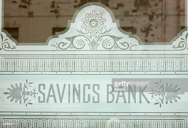 Savings Bank of Glasgow Fenster