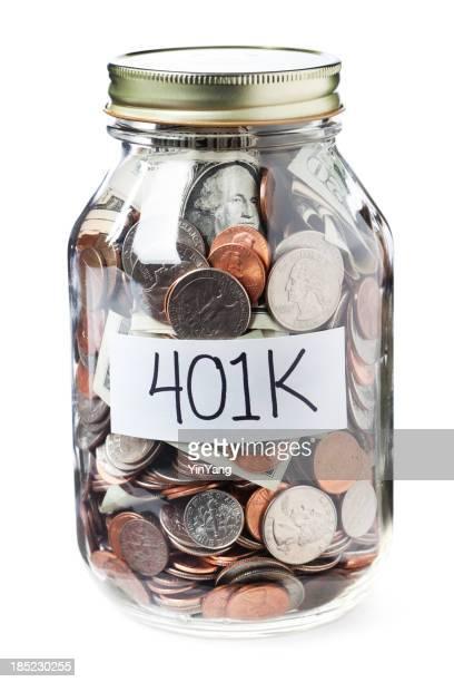 401K Savings in a Jar