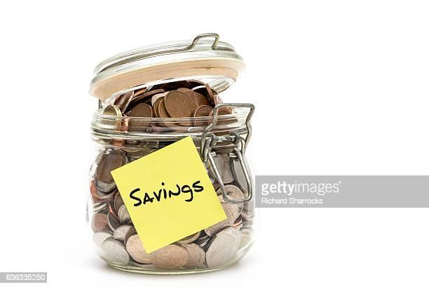 savings jar - モーペス ストックフォトと画像