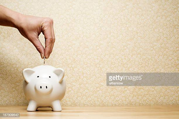 savings - piggy bank stock photos and pictures