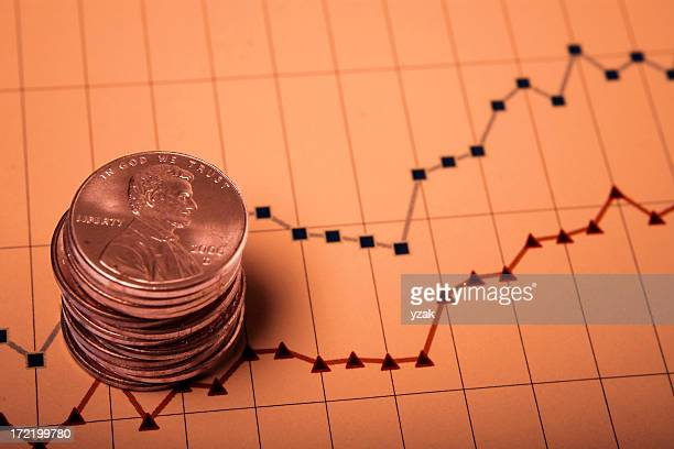savings - us penny stock pictures, royalty-free photos & images