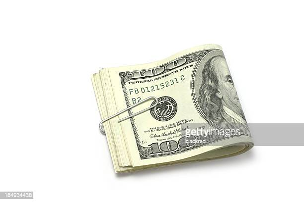 savings - american one hundred dollar bill stock pictures, royalty-free photos & images