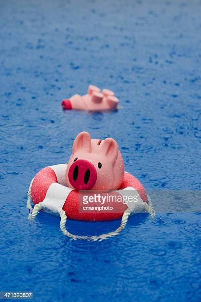 savings-head above water - cmannphoto stock pictures, royalty-free photos & images