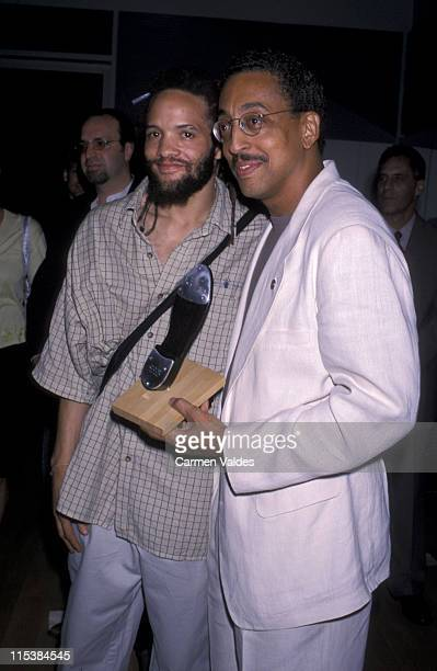 """Savion Glover & Gregory Hines during NYC Tap Festival With """"Tap City"""" Progressive Benefit Reception at 42nd Street Theater in New York City, NY,..."""