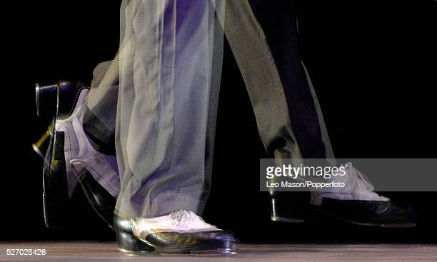 Savion Glover performing SoLe Sanctuary at Sadlers Wells Theatre London UK Marshall Davis Jnr