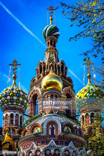 savior on the spilled blood iii - st. petersburg russia stock pictures, royalty-free photos & images