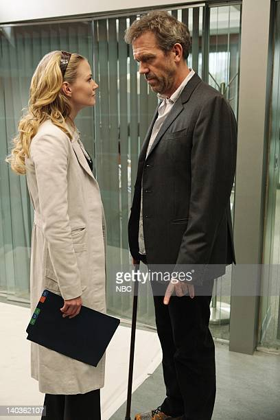 HOUSE Saviors Episode 521 Airdate Pictured Jennifer Morrison as Cameron Hugh Laurie as House Photo by Adam Taylor/NBCU Photo Bank