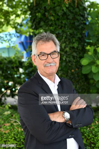 SavoieTechnolac JeanJacques Duchene poses on June 9 2017 at the site of SavoieTechnolac in Bourget du Lac during the 30rd anniversary of the...