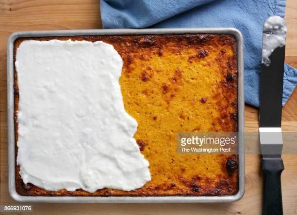 WASHINGTON DC Savory Butternut Squash Slab Pie photographed in Washington DC