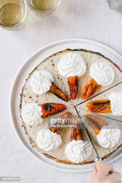 Savory Chicken Quesadilla Cake