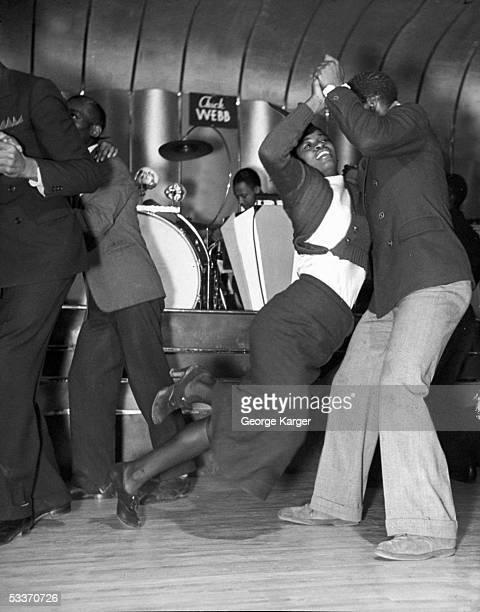 Savoy Ballroom in Harlem.