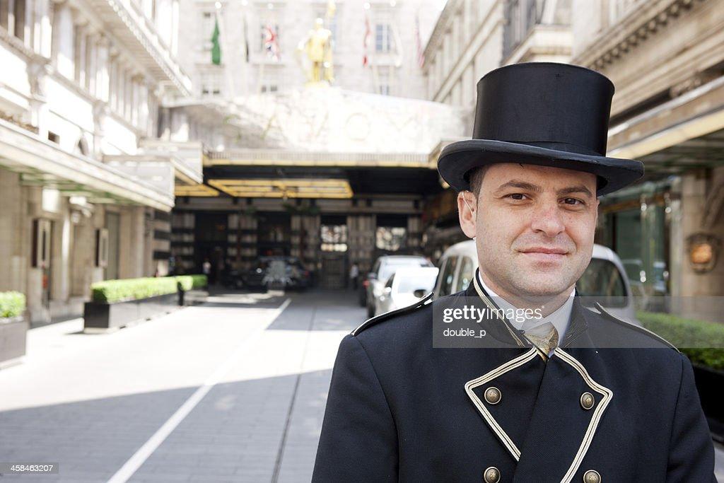Savoy Hotel : Stock Photo