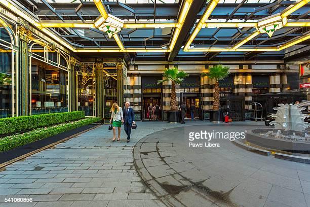 Savoy Hotel, Strand, London