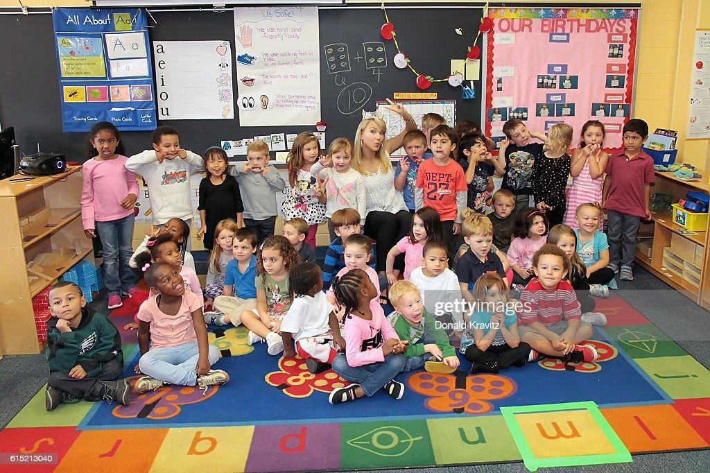 Miss America 2017 Visits The Hess School News Photo