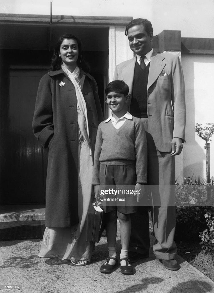 Maharajah And Family : News Photo