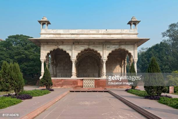 Sawan Bhadon Pavilion Red Fort Old Delhi India