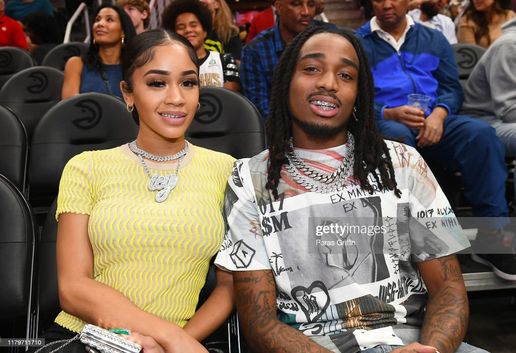 Saweetie And Quavo Attend Atlanta Hawks Vs New Orleans Pelicans News Photo Getty Images
