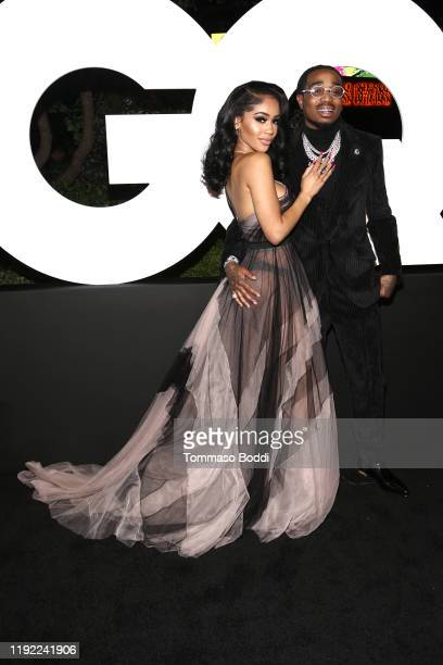 Saweetie and Quavo attends the 2019 GQ Men Of The Year at The West Hollywood Edition on December 05 2019 in West Hollywood California