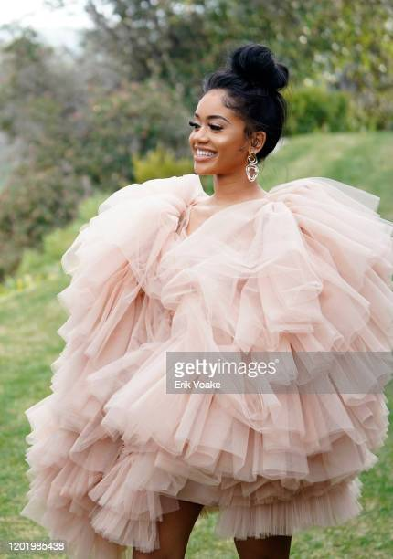 Saweetie attends 2020 Roc Nation THE BRUNCH on January 25 2020 in Los Angeles California