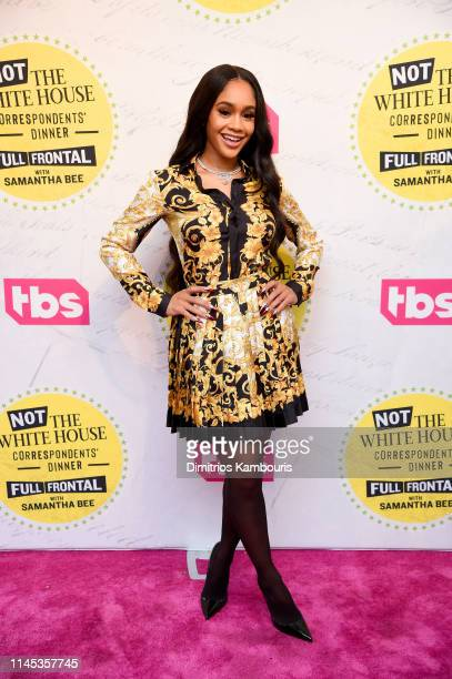 Saweetie attends Full Frontal With Samantha Bee Not The White House Correspondents Dinner at DAR Constitution Hall on April 26 2019 in Washington DC...