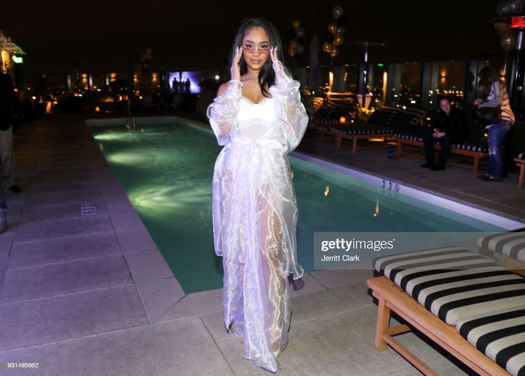 Saweetie attends her 'High Maintenance' Listening Event on March 12, 2018 in Hollywood, California.