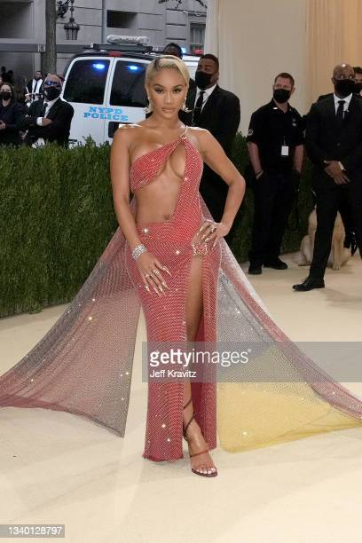 Saweetie attends The 2021 Met Gala Celebrating In America: A Lexicon Of Fashion at Metropolitan Museum of Art on September 13, 2021 in New York City.