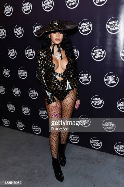 Saweetie attends the 2nd Annual American Influencer Awards at Dolby Theatre on November 18 2019 in Hollywood California