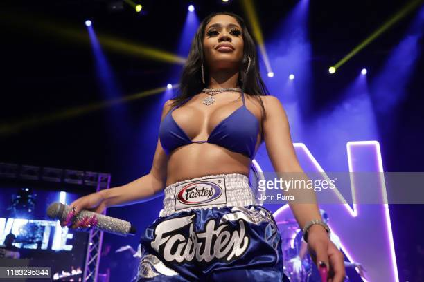 Saweetie performs during the RapCaviar Live Concert on October 24 2019 in Miami Beach Florida